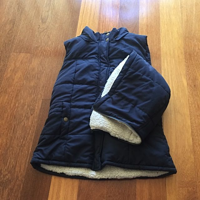 Wooly Puff Vest