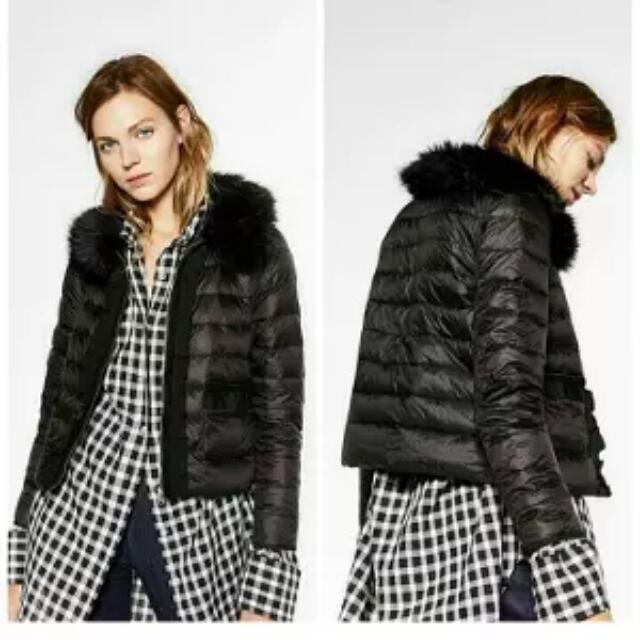 Zara WOMAN DOWN JACKET.BULU ANGSA, New , Original 100%