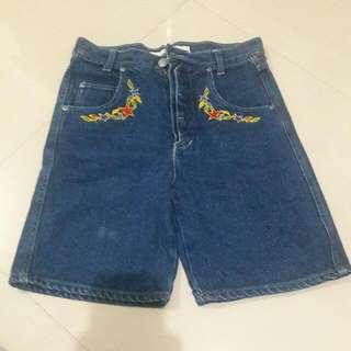 Preloved Denim Long Shorts(10-12T)