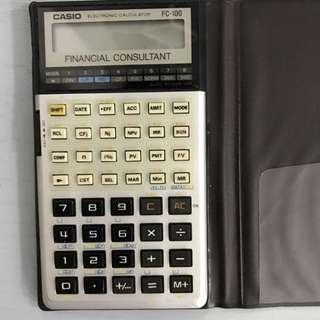 Casio Financial Calculator FC-100
