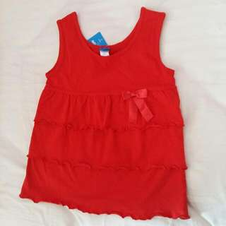 Beautiful Tiered Top New