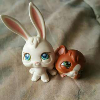 My Littlest Pet Shop Bunny And Hamster!
