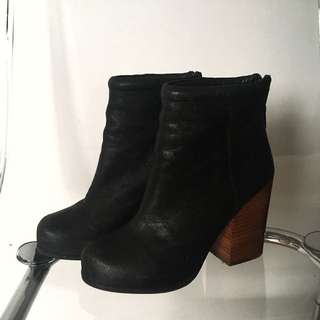 Jeffrey Campbell 'Rumble' leather booties