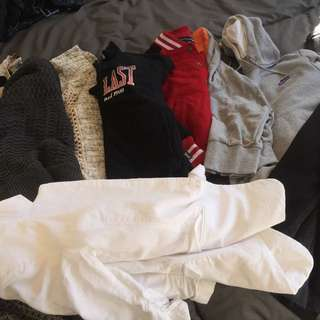 Jackets / Jumpers $3-$10