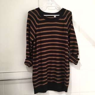 UO Oversized Long Knit Sweater- Med