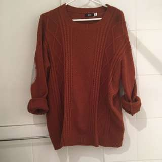 UO Cable Knit Sweater- Medium