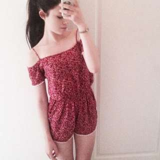 Floral Playsuits