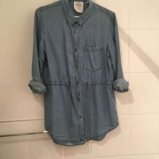 Cheap Monday Chambray Shirt- Small