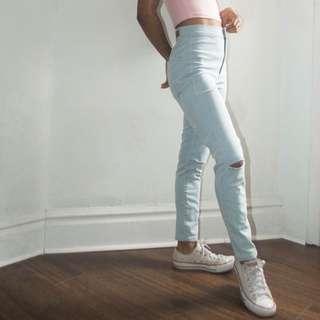 BRAND NEW! High Waist Jeans