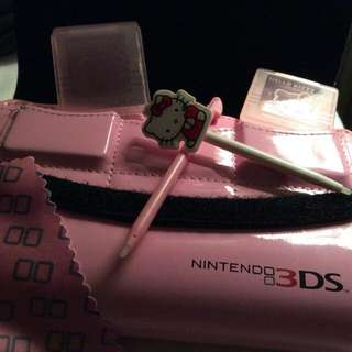 Pink Hello Kitty 3ds Xl Case and accessories $10.00