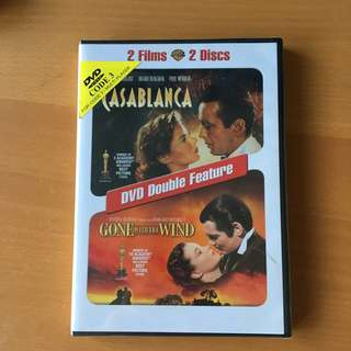 Casablanca & Gone With The Wind 2-in-1 DVD