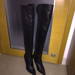 Leather Boots (Made In Japan)