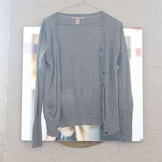 Victoria Secret Light Grey Cardigan Sweater