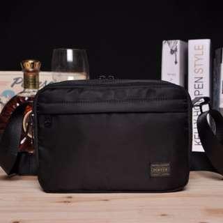 01bafd74c52d Black HEAD PORTER Yoshida Shoulder Sling Bag (2 Main Compartments