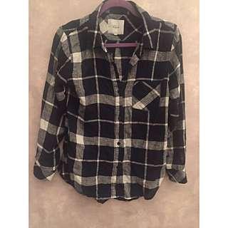 Rails Button Down Plaid Shirt