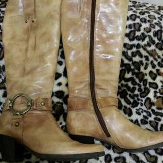 🚚 降價💰真羊皮馬靴