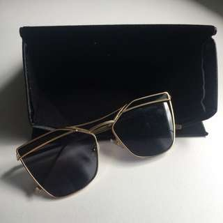 ELVIC GOLD Sunglasses