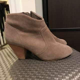 Genuine Suede booties