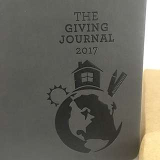 CBTL The Giving Journal 2017 (gray)