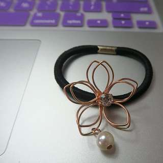 Flower Hair Elastic
