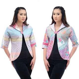 Blazer Batik Bolak Balik