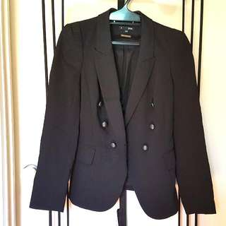 Saba Blazer Black Work Size 6