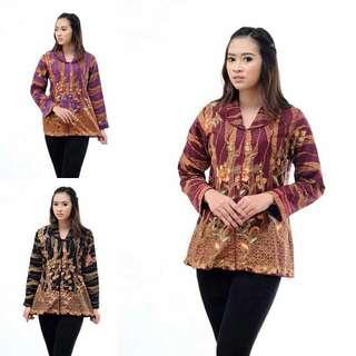Bluse Batik Sogan