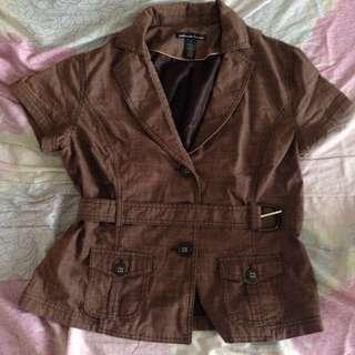 Brown Jacket (Formal)