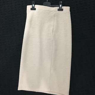 Size Medium Nude Coloured Skirt