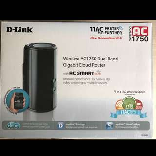 D-Link AC1750 Dual Band WIFI Router