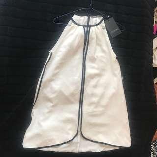 Moss man white dress