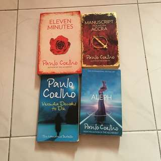 Paulo Coehlo books