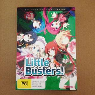 'LITTLE BUSTERS!' Anime - Complete First Season