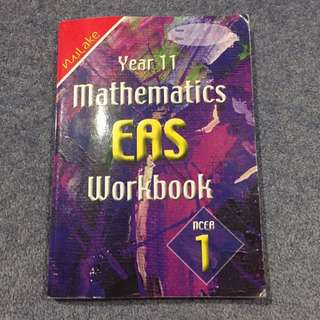 Yr 11 Maths EAS workbook