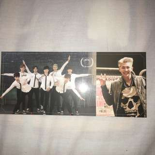 WTT Bts Skool Luv Affair Rap Monster Photocard