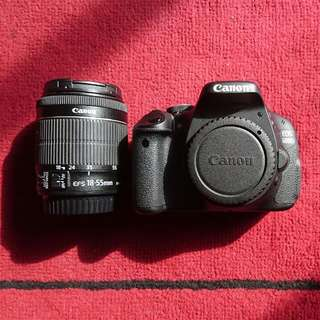 """Price Reduced"" Canon EOS 600D"