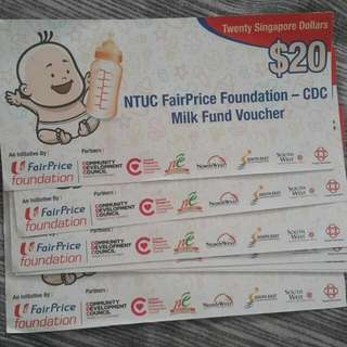 $300 Milk Ntuc Vouchers