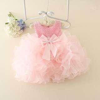 a93e2a240f Kids Dresses  Baby Gaun - PPQ50 Light Pink