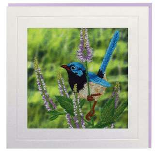 Fairywren Greeting Card