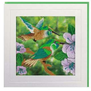 Humming Birds Greeting Card
