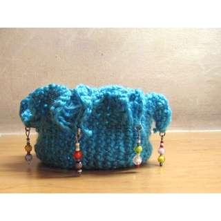 Handmade Crocheted Catchall / Basket / Jewelry Organizer