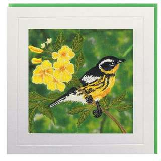 Yellow Throat Greeting Card