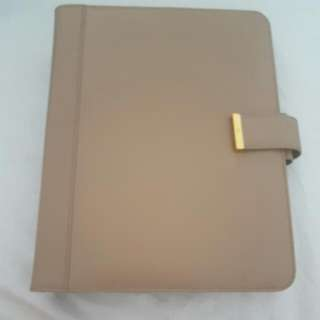 Kikki Katie Beige Leather Large Personal Planner