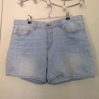 Portmans Pale Denim Shorts