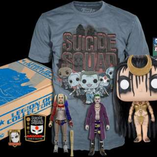LOOKING FOR SUICIDE SQUAD LEGION OF COLLECTORS