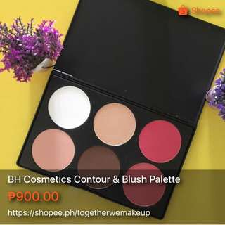 BH Cosmetics Contour And Blush Palette