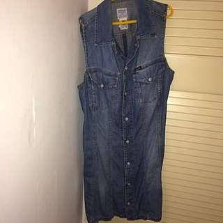 Denim Dress Size: Small
