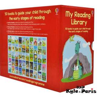 Usborne My Second Reading Library (50 paperback books in a slipcase)