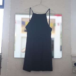 Little Black All About Eve Backless Dress