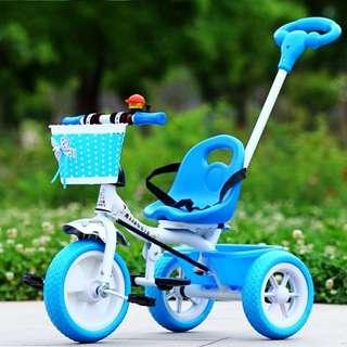Aluminium Children Colorful Bike Bicycle Tricycle wf handle